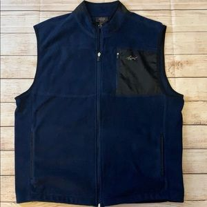 Men's Greg Norman Fleece Golf Vest size L